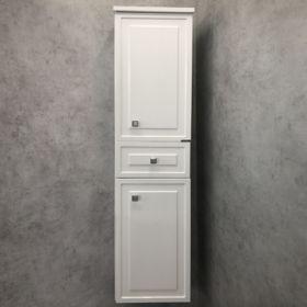 Шкаф-колонна Comforty  Феррара-40 белый глянец