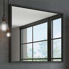 Зеркало Comforty Бредфорд-90 черный
