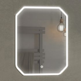Зеркало Comforty Колеус-65 LED-подсветка, сенсор 800*650 00-00001283CF