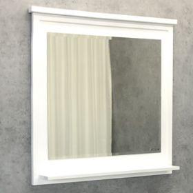 Зеркало Comforty Феррара-80 белый глянец