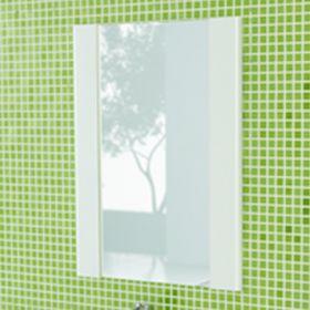 Зеркало Comforty Флоренция-60 белый глянец