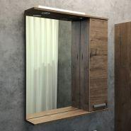 Зеркало-шкаф Comforty Марио-60 дуб дымчатый