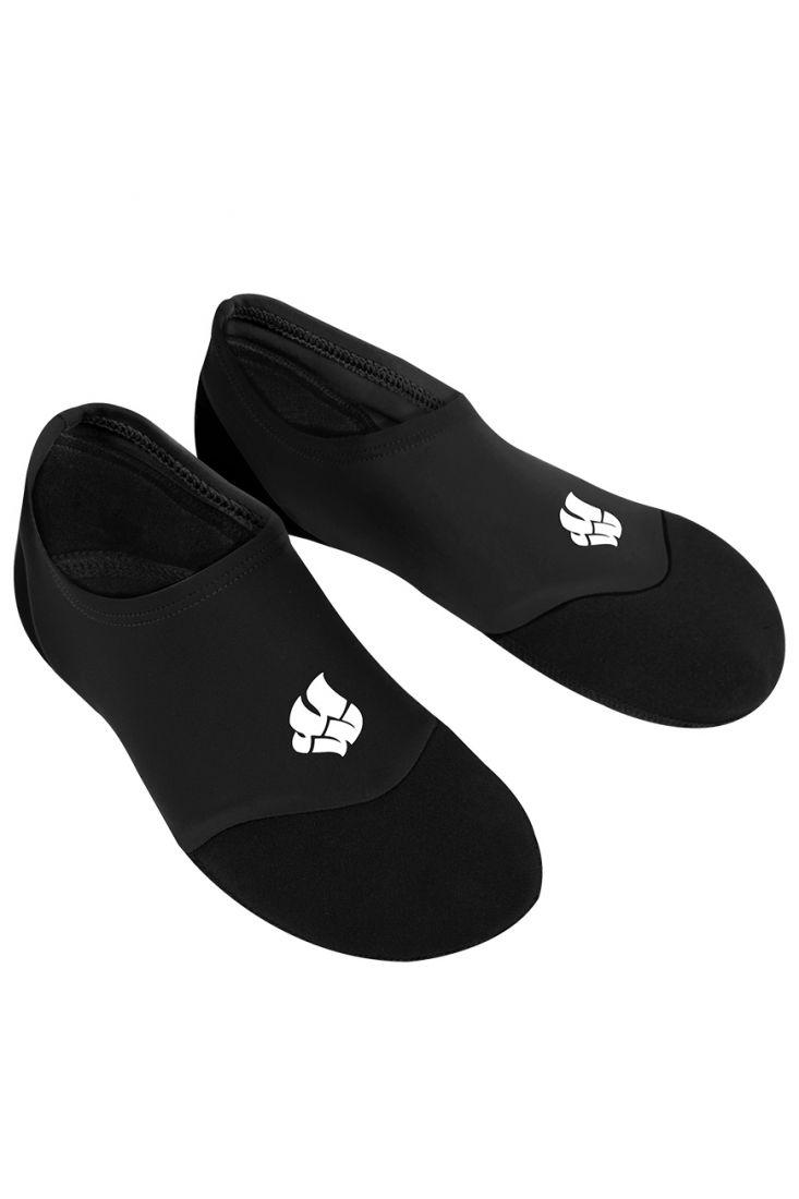 Акваноски для плавания взрослые Mad Wave SPLASH черные