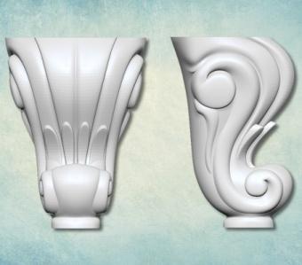 "Комплект молдов 3D ""Ножка"" (XS) ARTMD0935"