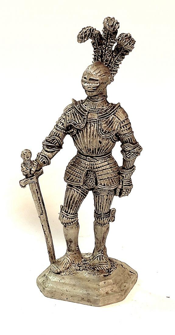 Фигурка Рыцарь.Германия 16 в. олово