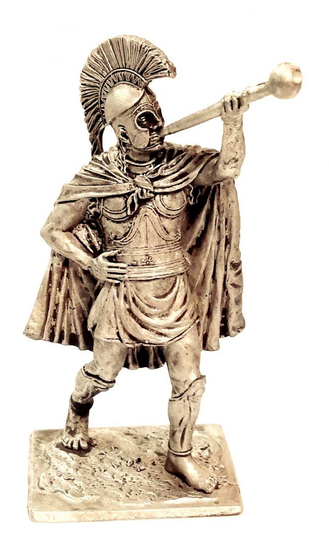 Фигурка Греческий трубач 5 в.. до н.э. олово