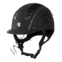 Шлем для верховой езды EQ3 Черная Замша