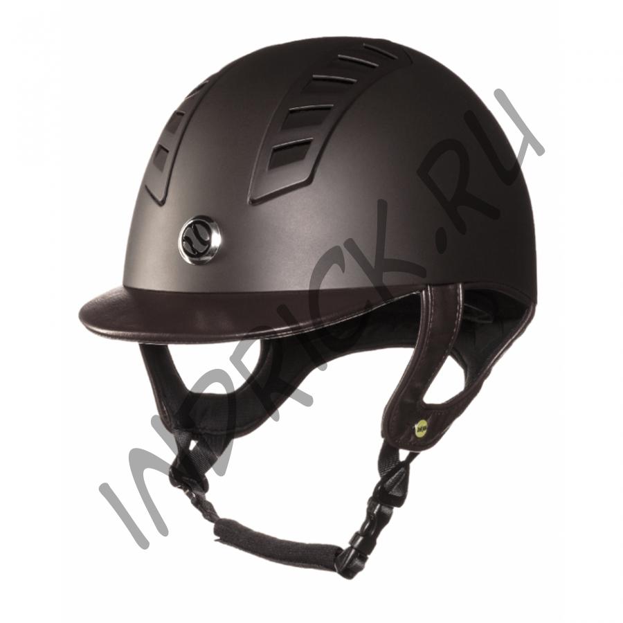 Шлем для верховой езды EQ3 Коричневый Топ