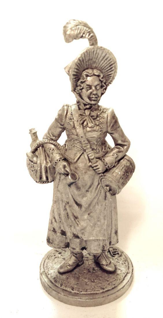 Фигурка Французская маркитантка, 1805-15 гг. олово