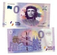 0 ЕВРО - Че Гевара (CHE GEVARA). Памятная банкнота