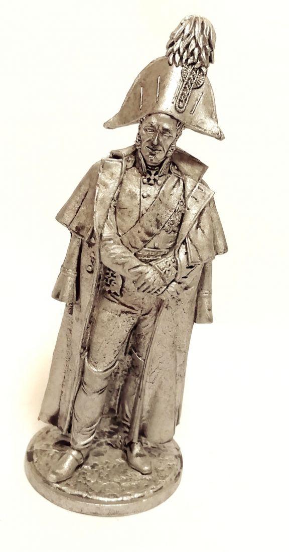 Фигурка Генерал от инфантерии М.Б.Барклай де Толли. Россия, 1810-12 гг. олово