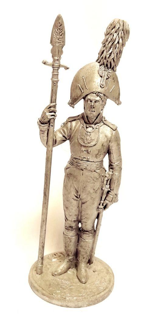 Фигурка Обер-офицер Орловского мушкетерского полка. Россия, 1804-06 гг. олово