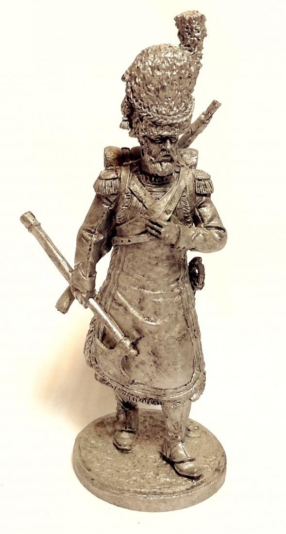 Фигурка Сапер 2-го пехотного полка. Берг, 1807-12 гг. олово