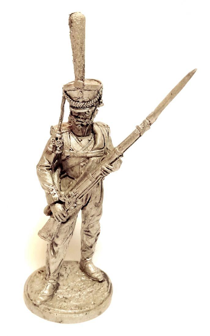 Фигурка Гренадер Таврического гренадерского полка. Россия, 1812-14 гг. олово
