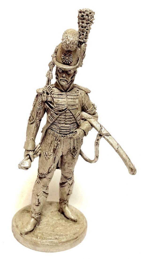 Фигурка Офицер Конной Лейб-гвардии. Швеция, 1807 г. олово
