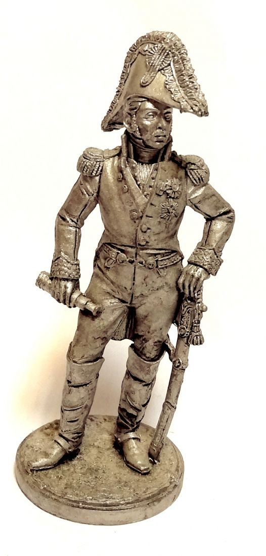 Фигурка Вице-король Италии принц Евгений Богарне. 1809-14 гг. олово