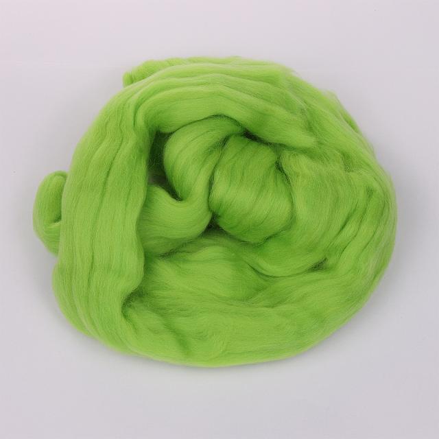 Шерсть для валяния ПЕХОРКА  ПОЛУТОНКАЯ 50 грамм в упаковке  разные цвета (ПШВ-ПТ)