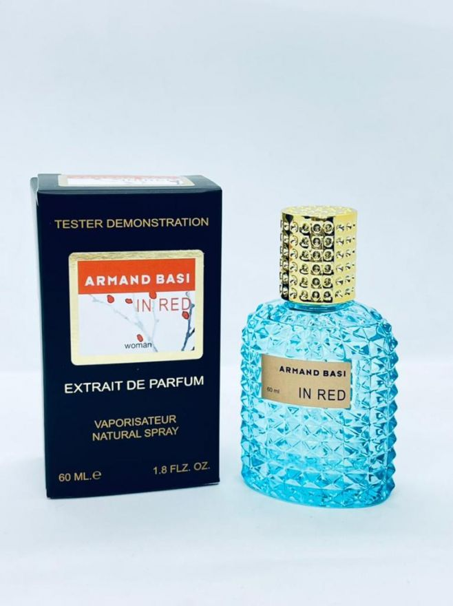 VIP TESTER Armand Basi in Red EDT 60ML