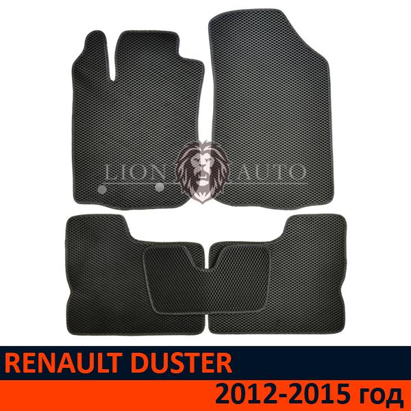 EVA коврики на RENAULT DUSTER (2012-2015г)