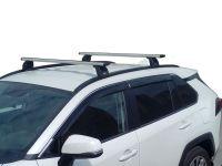 Багажник на крышу Toyota RAV4 2019-..., Lux, крыловидные дуги