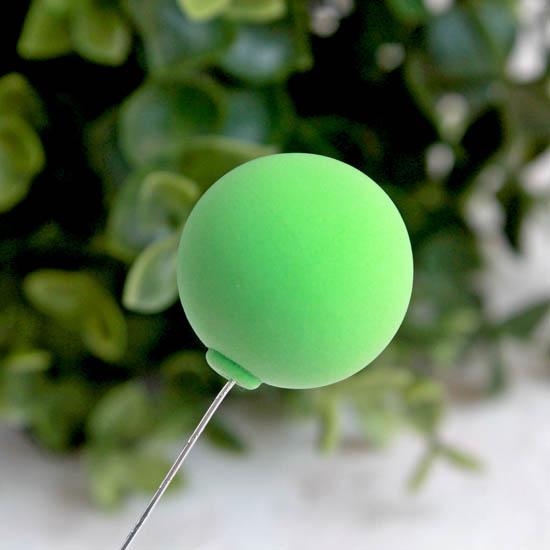 Аксессуар для куклы - Воздушный зеленый шарик