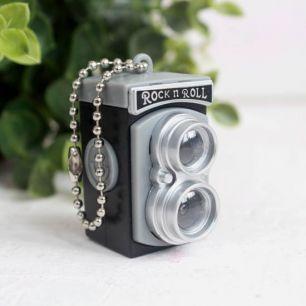 Ретро фотокамера для игрушек, серая