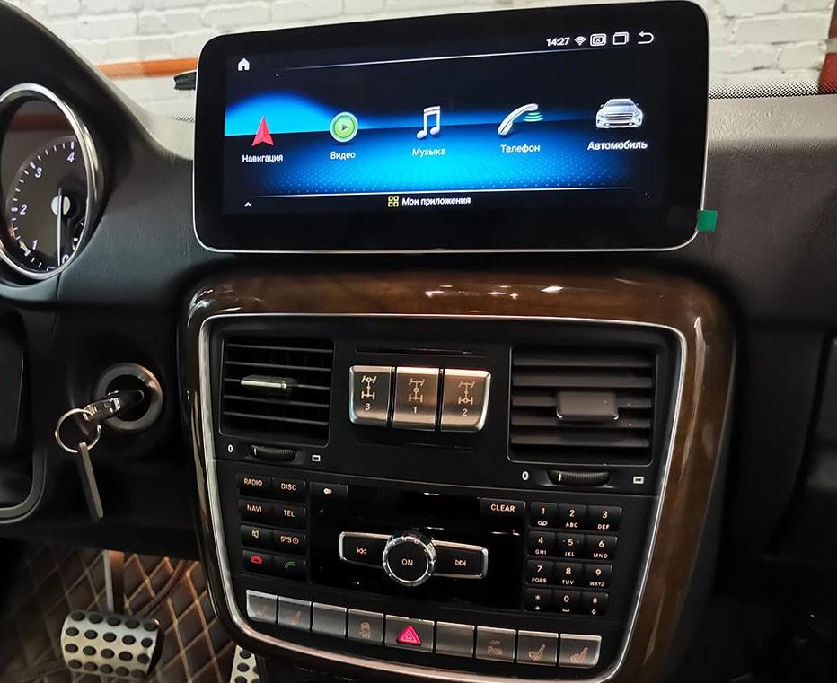 Монитор  TC-7701 Android 10 для Mercedes Benz G Class Gelandewagen 2012-2015
