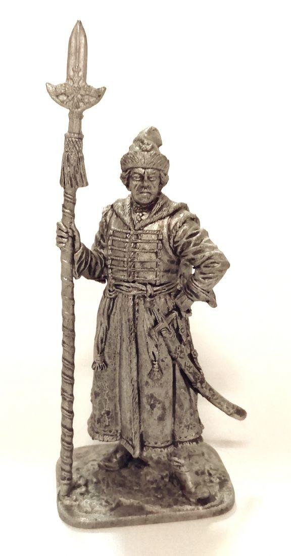 Фигурка Обер-офицер Преображенского полка, 1698-1702 гг. Россия олово