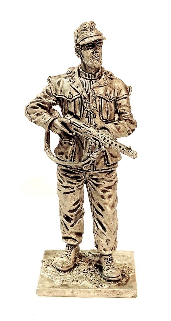 Фигурка Милиционер Национальной гвардии. Италия, 1943-45 гг. 68г 67 мм олово