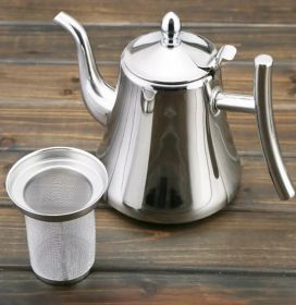 Чайник заварочный, 1л, с фильтром, нерж.сталь