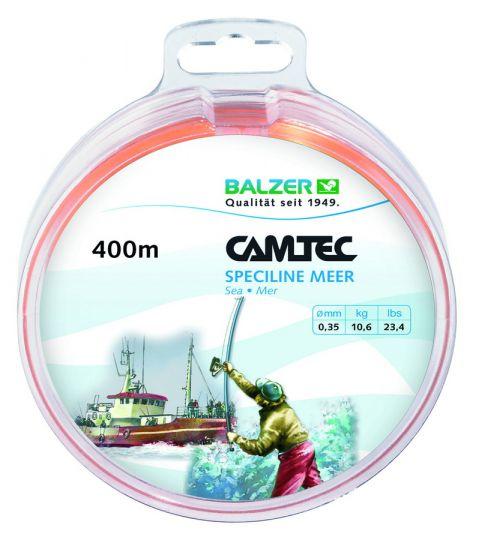 Леска Balzer Camtec (Лодка) оранжевая 250 м 12169