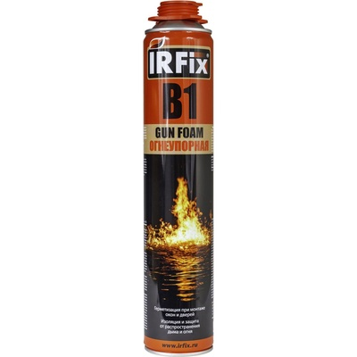 Пена монтажная огнеупорная IRFix B1, 750 мл