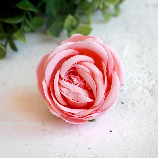 Бутон розы 4,5 см. - тканевый персиковый