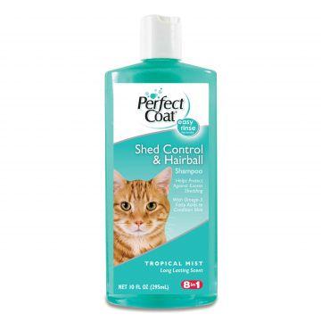 Шампунь 8in1 для кошек против линьки Shed Control&Hairball Shampoo 295мл