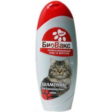 Шампунь Биовакс для кошек длинношерстных 355 мл.