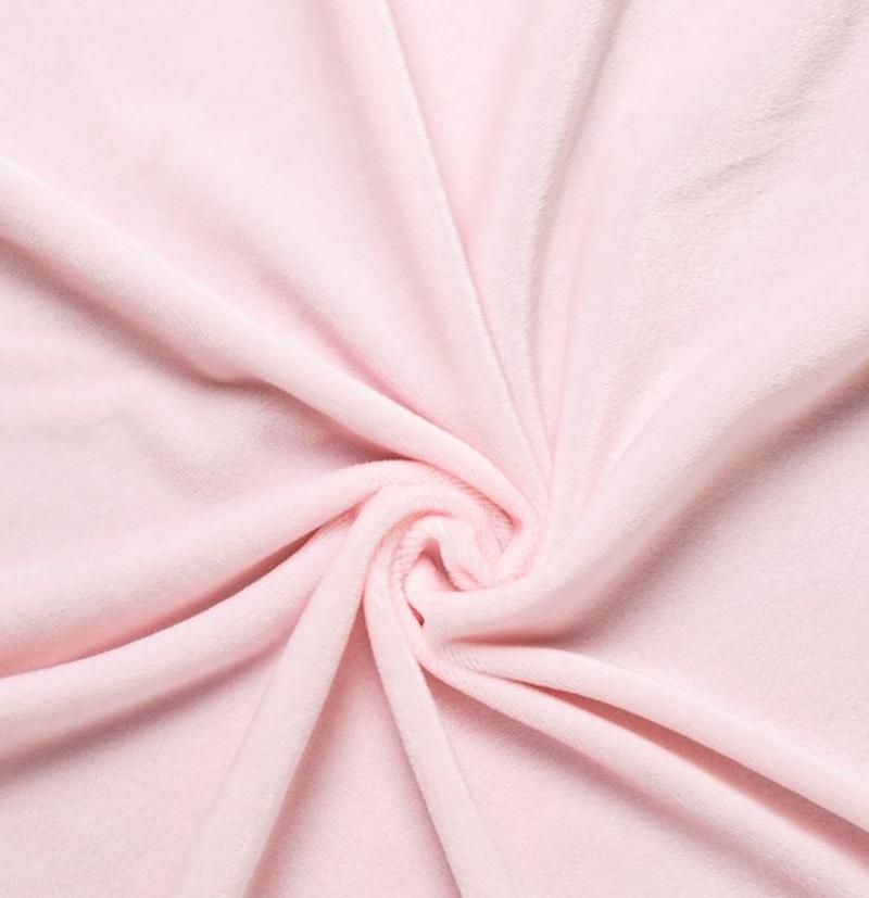Мелковорсовый мех  Вельбоа - розовый 50х40 см.