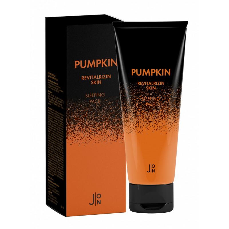 Ночная маска для ревитализации кожи с тыквой J:ON Pumpkin Revitalizing Skin Sleeping Pack, 50 мл