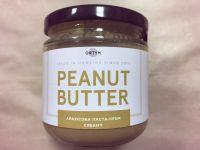 Натуральная арахисовая паста крем, ORTYM, 180 грамм, стекло