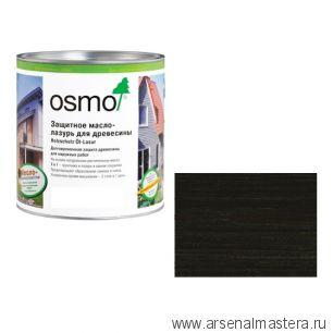 Защитное масло-лазурь для древесины для наружных работ OSMO 712 Holzschutz Ol-Lasur Венге 0,75 л