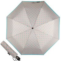 Зонт складной Pierre Cardin 82297-OC Gray Dots Blue