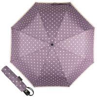 Зонт складной Pierre Cardin 82297-OC Lilac  Dots Crema