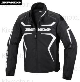 Куртка Spidi Sportmaster H2Out, Черно-белая