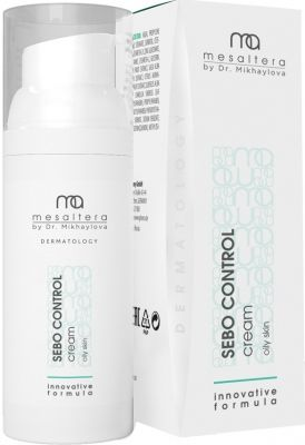 Sebo Control cream Ceбopeгyлиpyющий мaтиpyющий кpeм для жиpнoй кoжи MESALTERA by Dr. Mikhaylova (Мезалтера) 50 мл