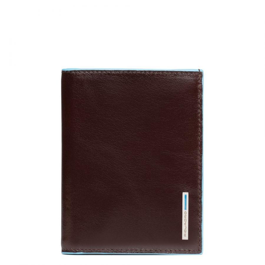 Чехол Piquadro PU1393B2/MO для кредитных карт вертикальный коричневый