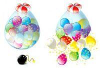 На свадьбу, день рождения или юбилей ! шар сюрприз