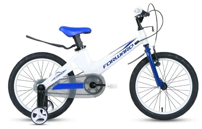"Велосипед FORWARD COSMO 16 2.0 (16"" 1 ск.) Белый (1BKW1K7C1013)"