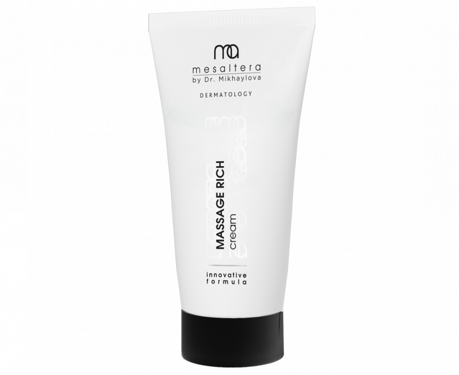 Massage Rich Cream Maccaжный кpeм для лицa MESALTERA by Dr. Mikhaylova (Мезалтера) 200 мл