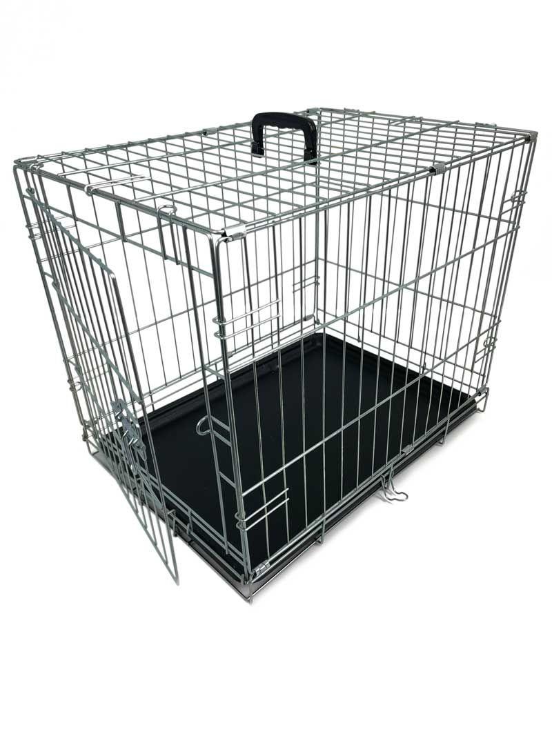 Клетка для собак №2 60X46X54СМ , (1 дверь ) оцинкованная