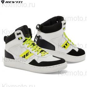 Мотоботинки Revit Pacer, Бело-черно-желтые