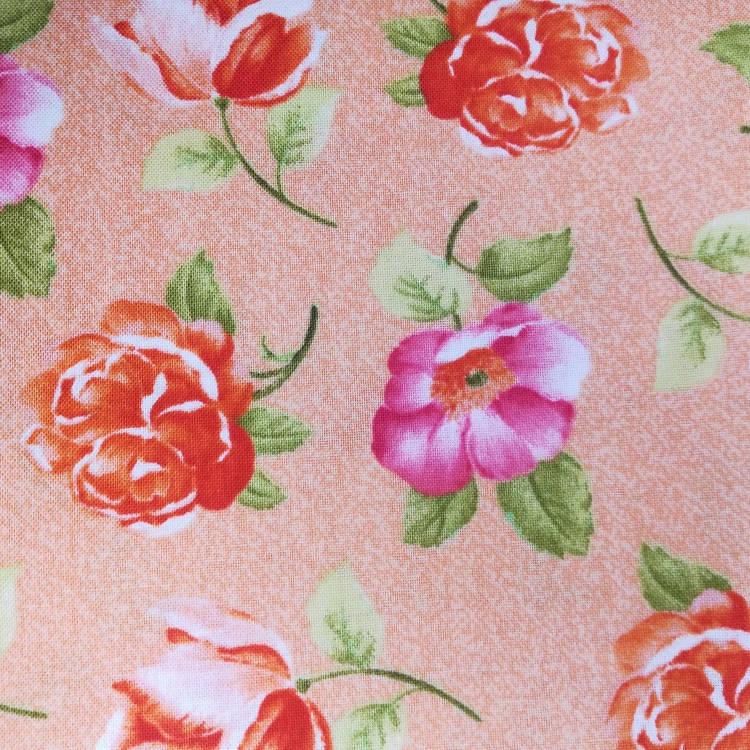 Ткань  Розы Quilting Treasures США отрез 50 см х 55 см (22986)